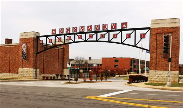 entrance to normandy high school