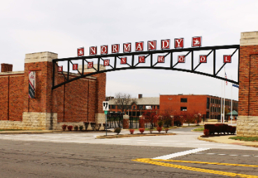 normandy high school entrance