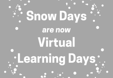 snow days = virtual learning days