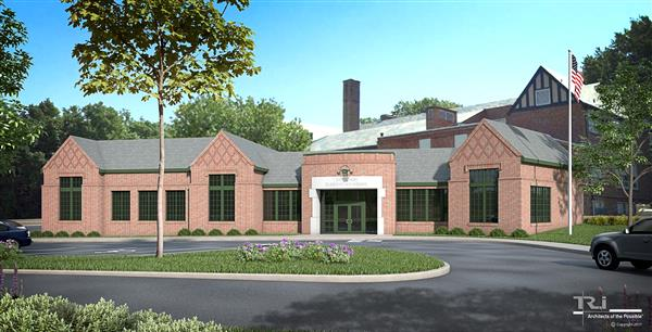artist's rendering of jefferson elementary addition